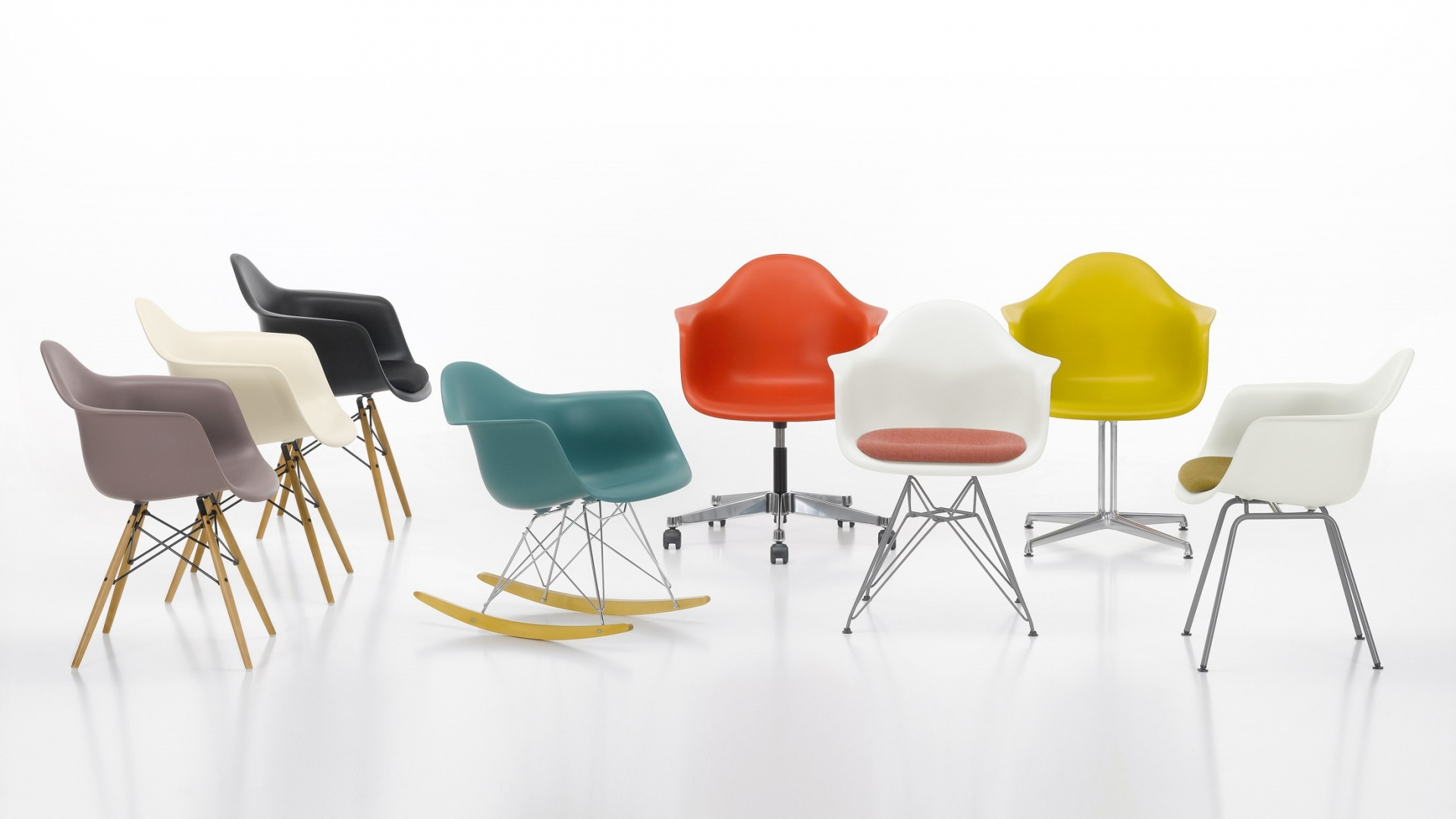 Eames Plastic Armchair DAX ambiance 3