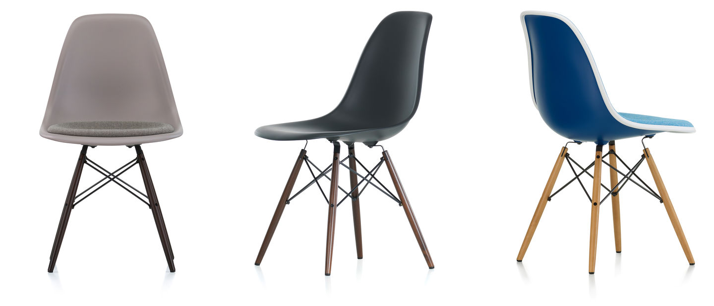 Eames Plastic Side Chair DSW ambiance 4