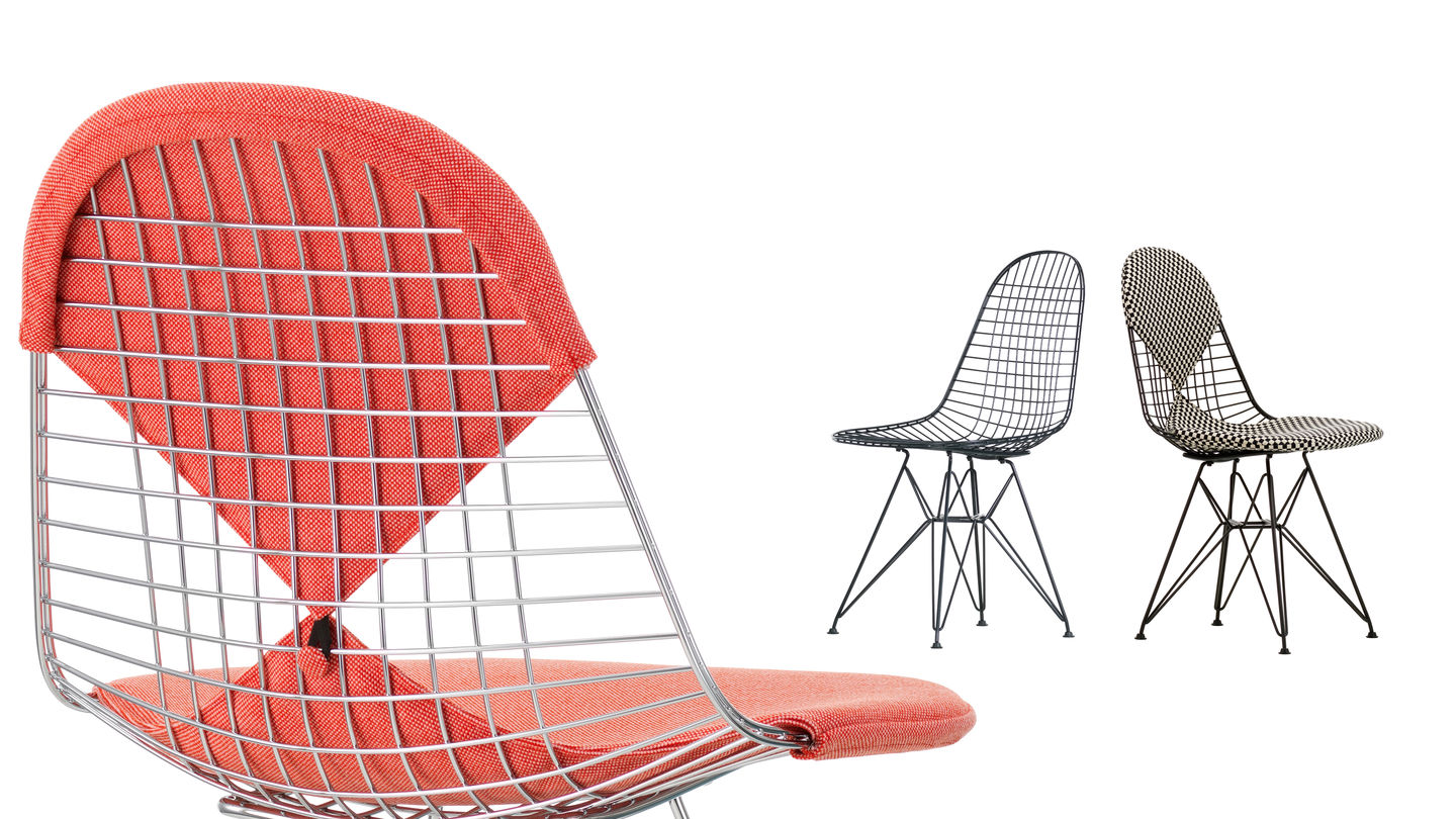 Wire Chair DKR ambiance 3