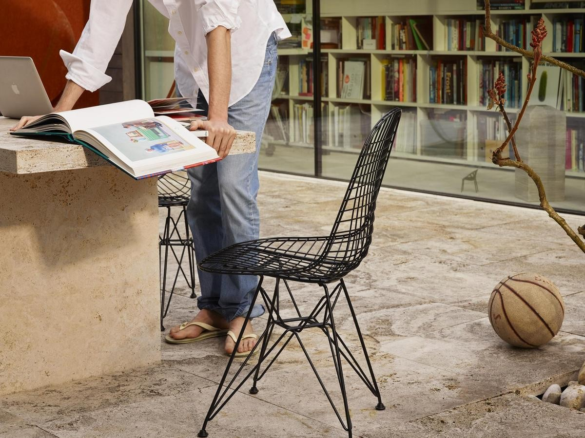 Wire Chair DKR ambiance 5