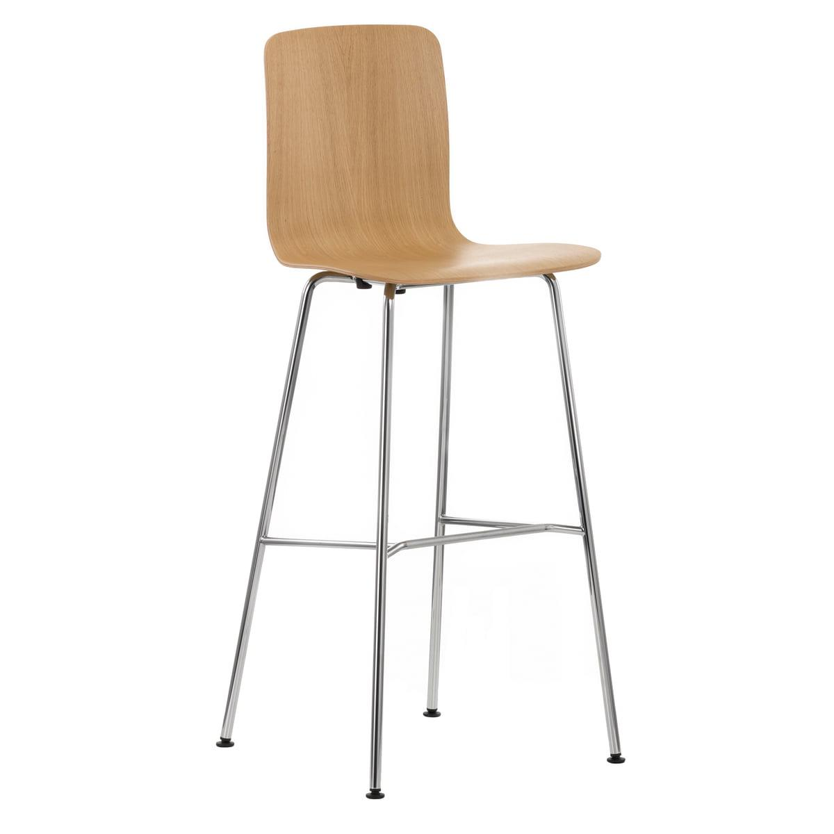 HAL Ply Stool High - Tabourets de bar / Vitra