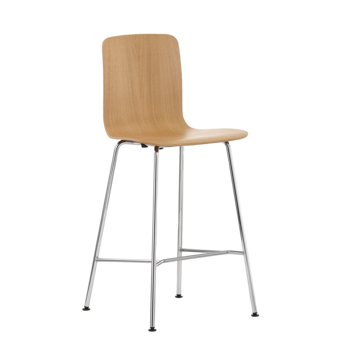HAL Ply Stool Medium - Tabourets de bar / Vitra