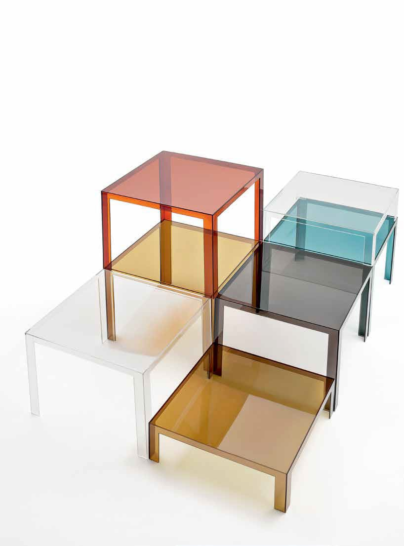 Invisible - Tables basses / Kartell